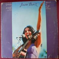 JOAN BAEZ CANTA EN ESPAÑOL - GRACIAS A LA VIDA - LP 1974-1975 (13 CANCIONES) - Country Y Folk