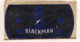 RAZOR BLADE RASIERKLINGE BLACKMAN    Nicht Ohne Rasierer Gefüllt - Rasierklingen