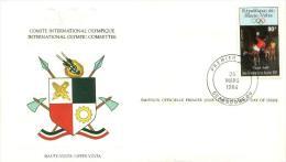 Obervolta / Upper Volta - Mi-Nr 929 FDC (n270) - Obervolta (1958-1984)