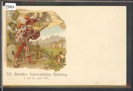 NÜRNBERG - XII DEUTSCHES BUNDESSCHIESSEN JULI 1897 - GANZSACHE - TB - Nuernberg
