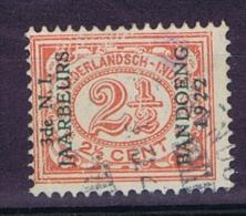"""Dutch East Indies, Nederlands Indie, 2,5 Ct Met Opdruk """"3de N.I. JAARBEURS BANDOENG 1922"""" NVPH 151. Used"""