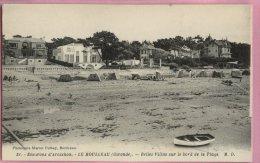 B123 DEP33 51 Env D Arcachon Le Moulleau Ecrite. - Arcachon