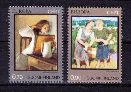 FINLAND     1975  Europa  CEPT  ,  Y&T   #    728/9 ,  Cv  5.00  E  , **   M N H , V V F - Europa-CEPT