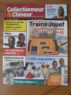 COLLECTIONNEUR & CHINEUR N° 036 - 18 AVRIL 2008 - TRAINS JOUEF COFFRETS EN HO / POUPEE BARRACUDA - Brocantes & Collections