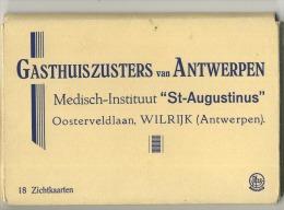 Berchem :  Gasthuiszusters Medisch-instituut  St. Augustinus ( Carnet Met 18 Kaarten Compleet ) - Belgique