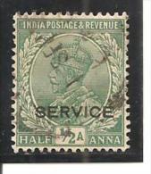 India Inglesa -  Nº Yvert  Servicio-78 (usado) (o) - India (...-1947)