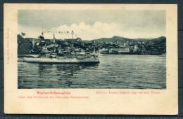 Marine Schauspiele Unter Dem Protektorat Des Deutschen Flottenverein, Ca. 1890 - Warships