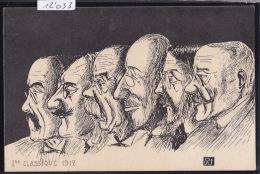 Genève - 1ère Classique 1912 - Têtes D´enseignants (caricature Signée RS) (12´033) - GE Genève