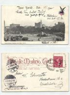 USA New York Union Square A Strauss 83 From NY 17-Feb-1900 To Osnabrück 01-Mar-1900, Horse Tram - Unclassified