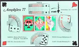 Netherlands Antilles  B146  **   PLAYING  CARDS  BRIDGE  CHAMPIONSHIPS - Curacao, Netherlands Antilles, Aruba