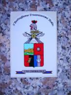 ADESIVO 5° BATTAGLIONE TRASMETTITORI ROLLE - - Militari