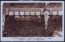 PARIS AU BON MARCHE EXPOSITION DU JOUET - Magasins