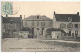 78 - Environs De Meulan - ECQUEVILLY - La Mairie Et L'Ecole De Garçons - Klein 1 - France