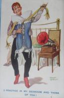 Fred Spurgin Man Dancing - Künstlerkarten