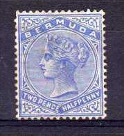 Bermuda - 1884 - 2½d Definitive - Used - Bermudes