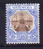 Bermuda - 1906 - 2½d Definitive - MH - Bermudes