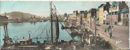 50/ MANCHE...Carte Panoramique De CHERBOURG: L'Avant Port, Le Quai Caligny Et La Montagne Du Roule - Cherbourg