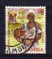 Zambia - 1983 - 12n Mushroom Picking - Used - Zambie (1965-...)
