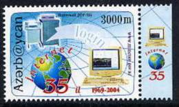 AZERBAIJAN 2004 Internet 35th Anniversary MNH / ** - Azerbaïjan