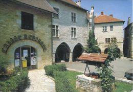 N°31232 -cpsm Villeneuve D'Aveyron -caisse D'épargne- - Banques