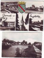 03 - GARNAT SUR ENGIEVRE - 2 CARTES - MULTI VUES  -  LE PORT - France