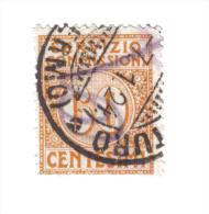 Servizio Commissioni 1913 Vitt. Em. III° 60 Cent  Usato   COD FRA.162 - 1900-44 Vittorio Emanuele III