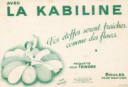 - BUVARD LA KABILINE - 218 - Textile & Vestimentaire