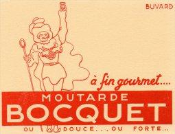 - BUVARD Moutarde BOCQUET - 220 - Mostard