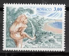 N° 1604 De Monaco - X X - ( E 1423 ) -  ( Bernardin De St Pierre ) - Writers