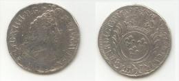 Pièce De 1/2 Ecu Louis XIV - 1694 B Réformation - 987-1789 Könige