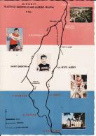 CPSM   Dentelée Sur Le Championnat De France Professionnel Sur Route De 1967 à FELLETIN (23) //  TBE - Cyclisme