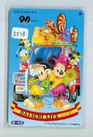 Télécarte Japon  (3518)   DISNEY *  Phonecard Japan * TELEFONKARTE * - Disney