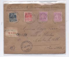 France 1931 : Jolie Lettre CHARGEE - Storia Postale