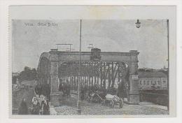Lithuania.Wilno.Vilna.Bridge. - Litouwen
