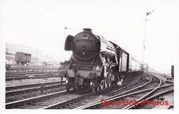 Railway Photo LNER A3 60063 Isinglass Gresley Pacific Loco - Trains