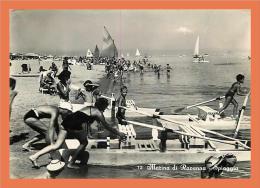 Marina Di RAVENNA - Spiaggia  // CPSM - Ravenna