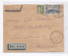 France 1935 : Lettre Par Avion Pour L'Allemagne Avec N°299 - Storia Postale