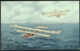"WW1  War Bond Campaign Post Card  No11  ""British Flying Boats"". - Patriotic"