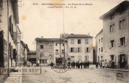 HAUTE LOIRE 43 BEAUZAC LA PLACE DE LA MAIRIE  LE MAS DE COCAGNE - France