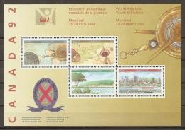CANADA 1992 - Yvert #H1234/37 - MNH ** - Blocchi & Foglietti