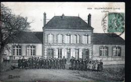 45 - VILLEMOUTIERS - L'ECOLE - Autres Communes