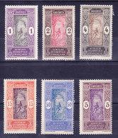 Dahomey N°43 - 44 - 45 - 48 - 61 - 65  Neufs Charniere   (6 Valeurs) - Dahomey (1899-1944)