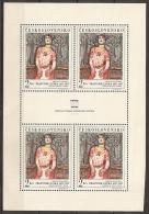 CHECOSLOVAQUIA 1968 - Yvert #C1645 (Minipliego) - MNH ** - Hojas Bloque