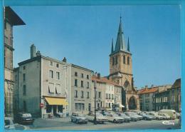 C.P.M. Rambervillers - Place De L'Eglise - Rambervillers