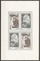 CHECOSLOVAQUIA 1973 - Yvert #C2007/08 (Minipliego) - MNH ** - Checoslovaquia