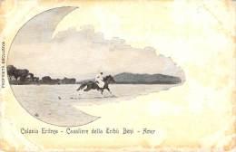 Erythrée - Colonia Eritrea, Cavaliere Della Tribu Beni Amer - Erythrée