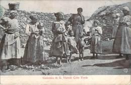 Cap-Vert- Costumes De S. Vincente Cabo Verde - Cap Vert