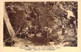 Dahomey - Source De La Ferme De Zagnanado - Dahomey
