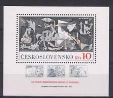 TCH 18 - TCHECOSLOVAQUIE Bloc N° 51 - Tableau De Picasso - Picasso
