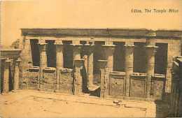 Egypte - Ref A317- Edfou , The Temple Athor  - Carte Bon Etat   - - Egypt